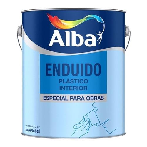 Enduido Plastico Alba Standard Interior 1 Litro M M