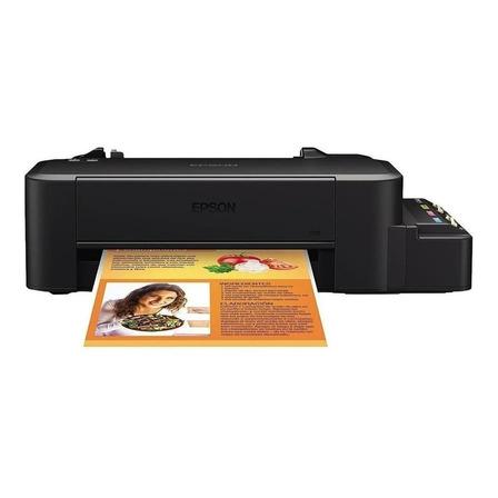 Impresora a color Epson EcoTank L120 negra 110V