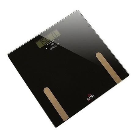 Balanza digital GA.MA Italy SCF 2000 negra, hasta 150 kg