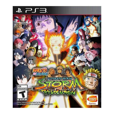 Naruto Shippuden: Ultimate Ninja Storm Revolution Standard Edition Digital PS3 Bandai Namco Entertainment