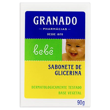 Sabão em barra Granado de Glicerina Bebê de 90 g