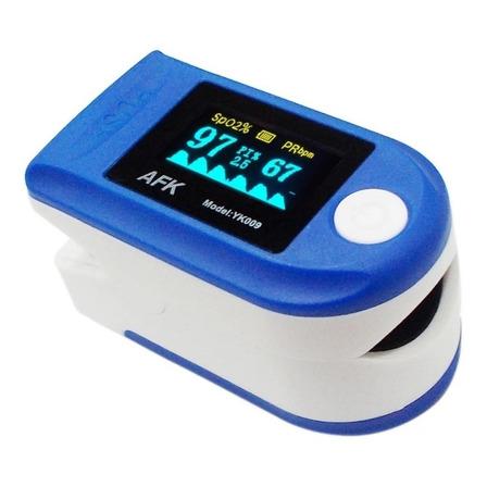 Oxímetro de pulso para dedo AFK YK009 azul