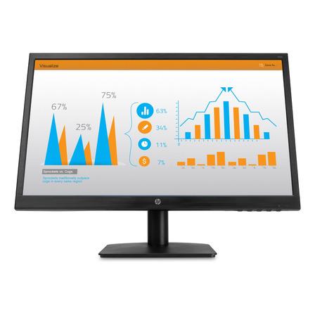 "Monitor HP N223 led 21.5"" negro 100V/240V"