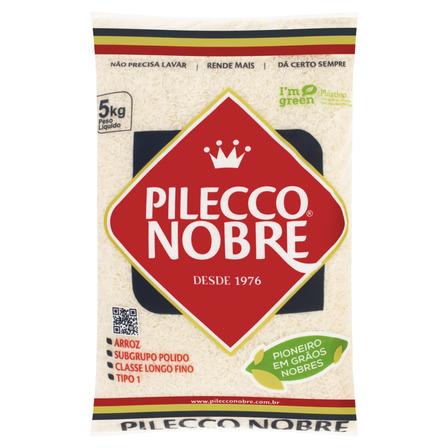 Arroz Polido Tipo 1 Pilecco Nobre Pacote 5kg Pilecco Nobre