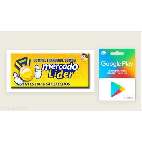 Saldo Google Play $ 600