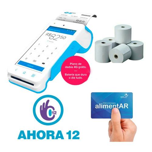 Mercadopago Point Smart 4g Nuevo Posnet Qr Tactil Oferta Ya!