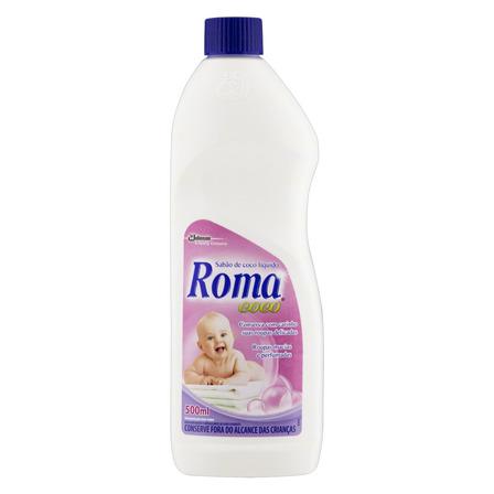 Sabão líquido Roma Coco Coco frasco 500ml