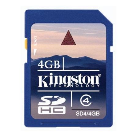 Cartão de memória Kingston SD4 4GB