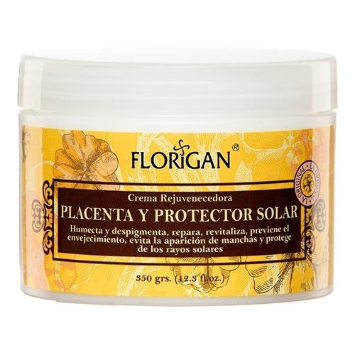 Crema Rejuvenecedora Placenta Y Protector Solar 350grs.