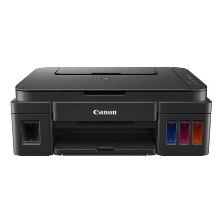 Impressora a cor Canon Pixma G3110 com wifi preta 110V/220V