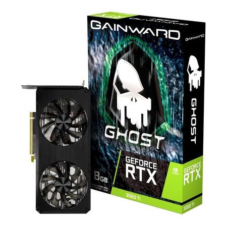 Placa de vídeo Nvidia Gainward  Ghost GeForce RTX 30 Series RTX 3060 Ti NE6306T019P2-190AB 8GB