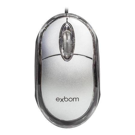 Mouse Exbom MS-10 prata