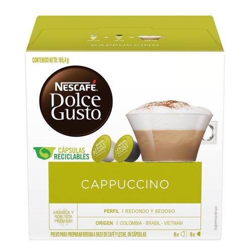 Cápsulas De Café Nescafé Dolce Gusto Cappuccino