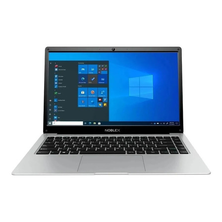 """Notebook Noblex N14W21 plata 14.1"""", Intel Celeron N3350  4GB de RAM 500GB HDD, Intel HD Graphics 500 1366x768px Windows 10 Home"""