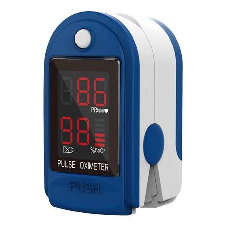 Oxímetro de pulso para dedo Contec CMS50DL azul