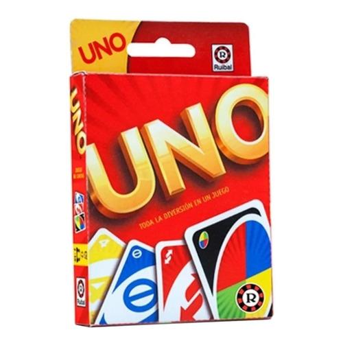 Juego de cartas Uno Ruibal