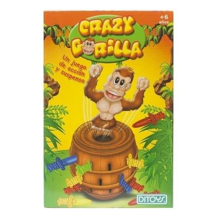 Juego de mesa Crazy Gorilla Ditoys
