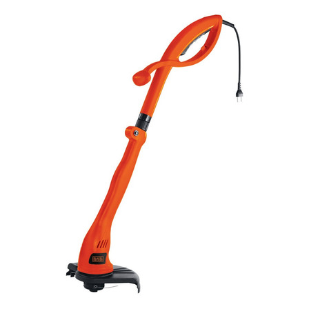 Desbrozadora de césped Black+Decker GL300 350W color naranja 120V con accesorios