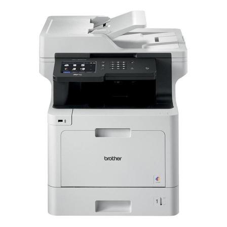Impressora a cor Brother Business MFC-L8900CDW com wifi branca 110V