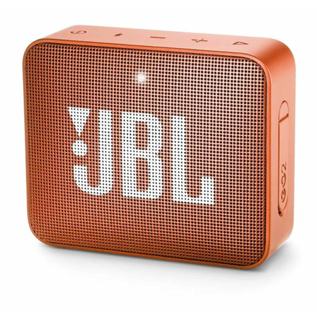 Parlante JBL Go 2 portátil con bluetooth  coral orange