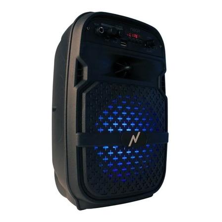 Parlante Noga NGL-400BT portátil con bluetooth negro