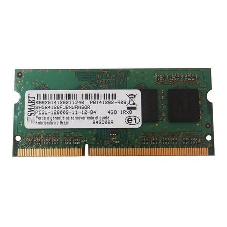 Memória RAM color Verde  4GB 1x4GB Smart SH564128FJ8NWRNSQR