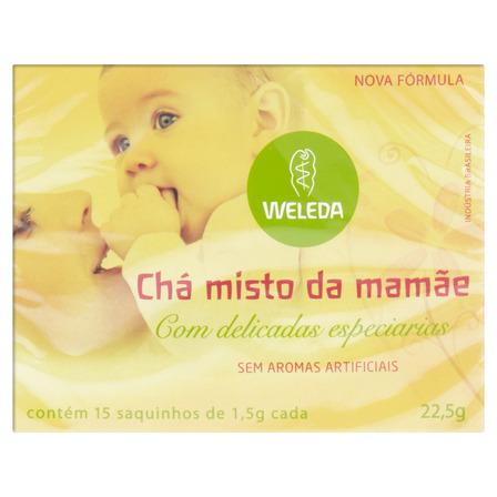 Chá Misto da Mamãe Weleda Caixa 22,5g 15 Unidades