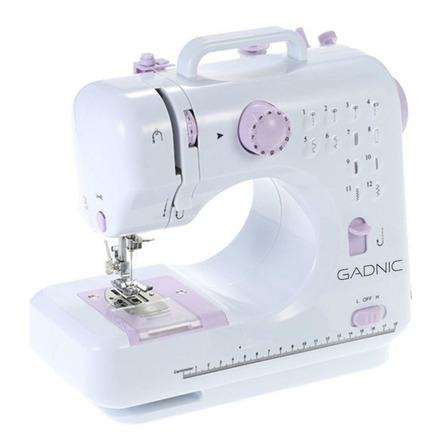 Máquina de coser recta Gadnic MAQCOS02 portable blanca 220V