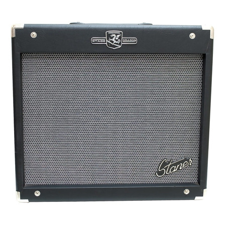 Amplificador Staner Stage Dragon BX-200 Combo 140W preto 127V/220V