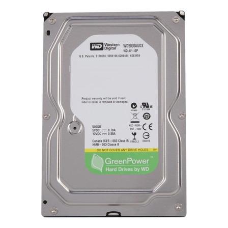 Disco rígido interno Western Digital AV-GP WD5000AUDX 500GB