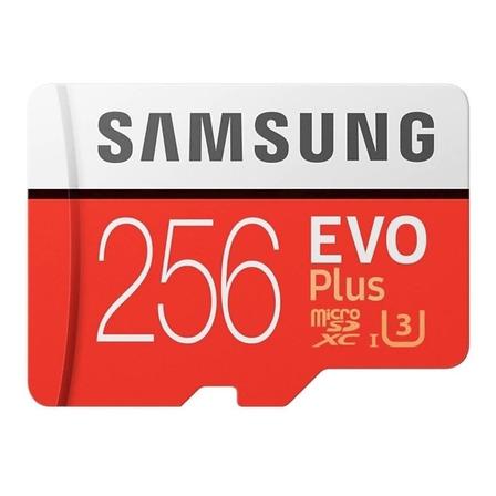 Cartão de memória Samsung MB-MC256GA/EU Evo Plus com adaptador SD 256GB