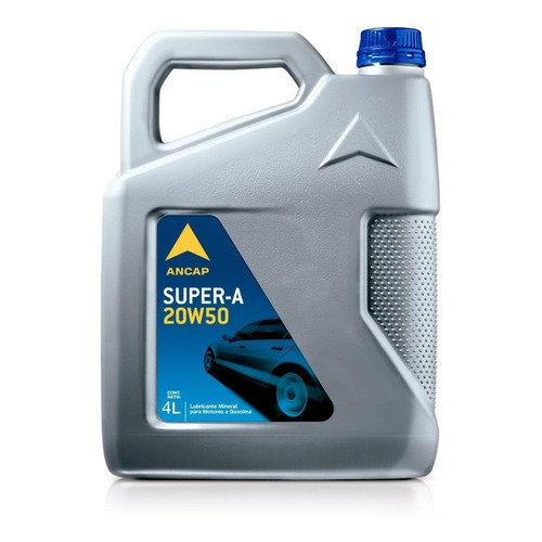 Aceite Para Nafta Oferta Super A 20w50 Ancap 4 Lts Js Ltda