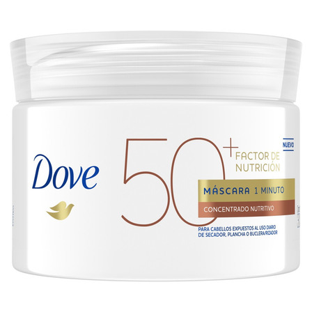 Máscara Dove 1 Minuto Factor de Nutrición 50 300 g