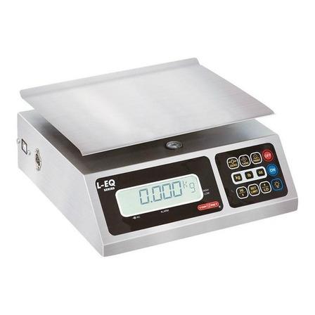 Báscula comercial digital Torrey L-EQ 10kg 110V/220V plateado