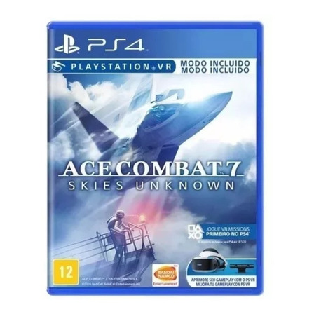 Ace Combat 7: Skies Unknown Bandai Namco Entertainment PS4 Físico