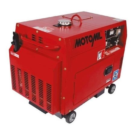 Gerador portátil Motomil MDG5000ATS monofásico 127V/220V