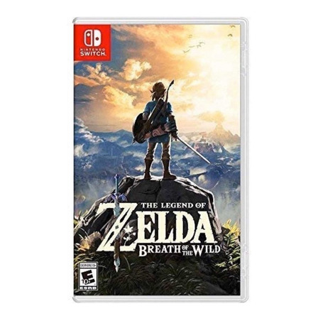 The Legend of Zelda: Breath of the Wild Standard Edition Físico Nintendo Switch