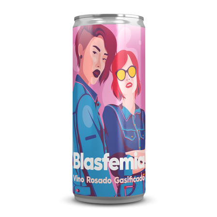 Vino rosado Blasfemia bodega Origin Wines 269ml