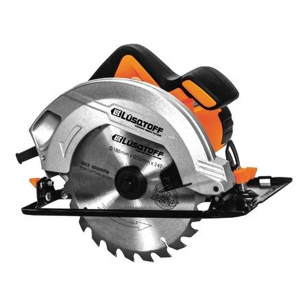 Sierra circular eléctrica Lusqtoff CSL1500-8 185mm 1500W 50Hz naranja/ negra 220V