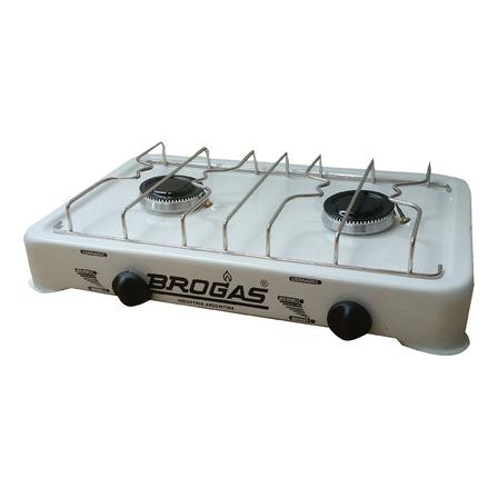 Anafe a gas Brogas 8202  blanco