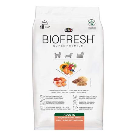 Alimento Biofresh Super Premium para cachorro adulto de raça mini/pequena sabor carne/frutas/vegetais em saco de 3kg