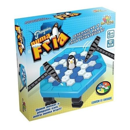 Jogo de mesa Quebra Gelo do Pinguim Art Brink