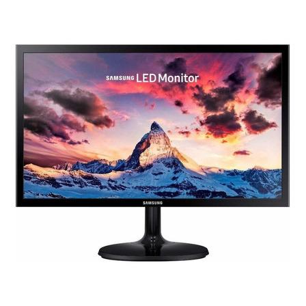 """Monitor gamer Samsung LS22F350FH led 21.5"""" preto 100V/240V"""