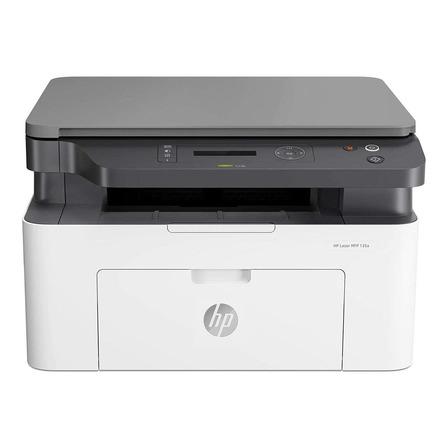 Impressora multifuncional HP Laser MFP 135A branca e cinza 110V - 127V