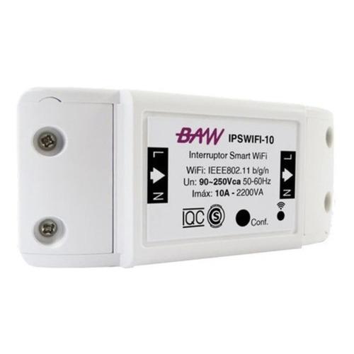 Interruptor Wifi Smart Inteligente Baw Domotica 10a