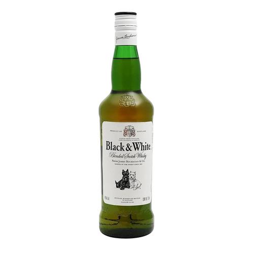 Black & White Blended Scotch 8 escocés 700 mL