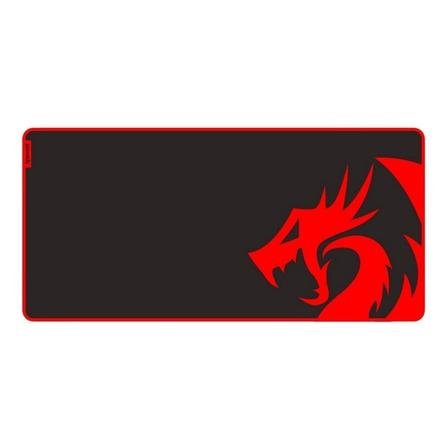 Mouse Pad Redragon P006 Kunlun de borracha e tecido g 420mm x 880mm x 4mm preto/vermelho