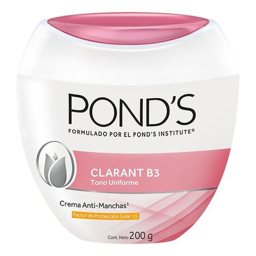 Crema Anti-manchas Facial Pond's Clarant B3 Con Spf15 200g