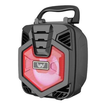 Alto-falante Altomex AL-1186 portátil com bluetooth vermelho 110V/220V