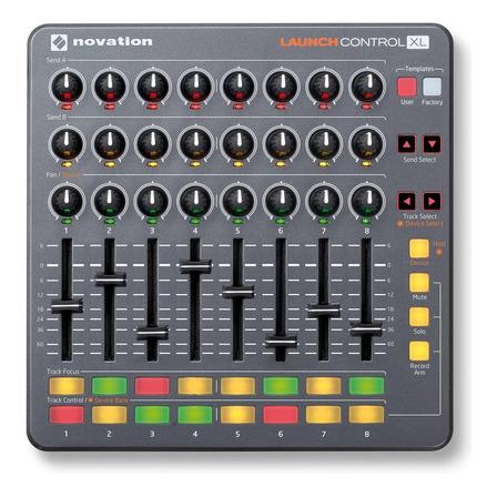 Controlador DJ Novation Launch Control XL gris